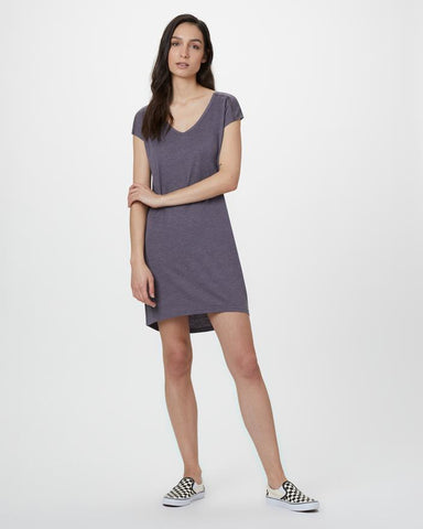 Waldron Dress by tentree, Boulder Grey