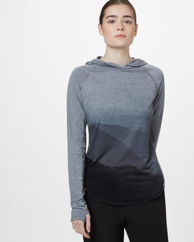 Destination Hoodie in Heather Grey by tentree