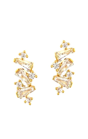 Tai Jewelry Baguette Cluster Climber Clear cPNaoLY