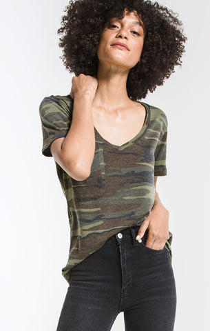 The Pocket Tee In Camo