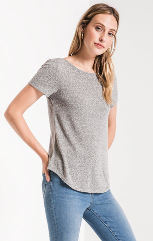 Tray Triblend Twist Back T-Shirt