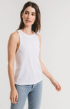 Libby Organic Cotton Muscle Tank