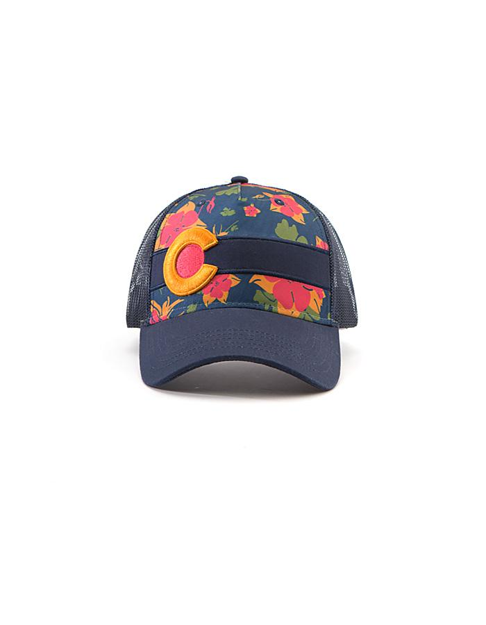 Republic Sunset Columbine Trucker Hat