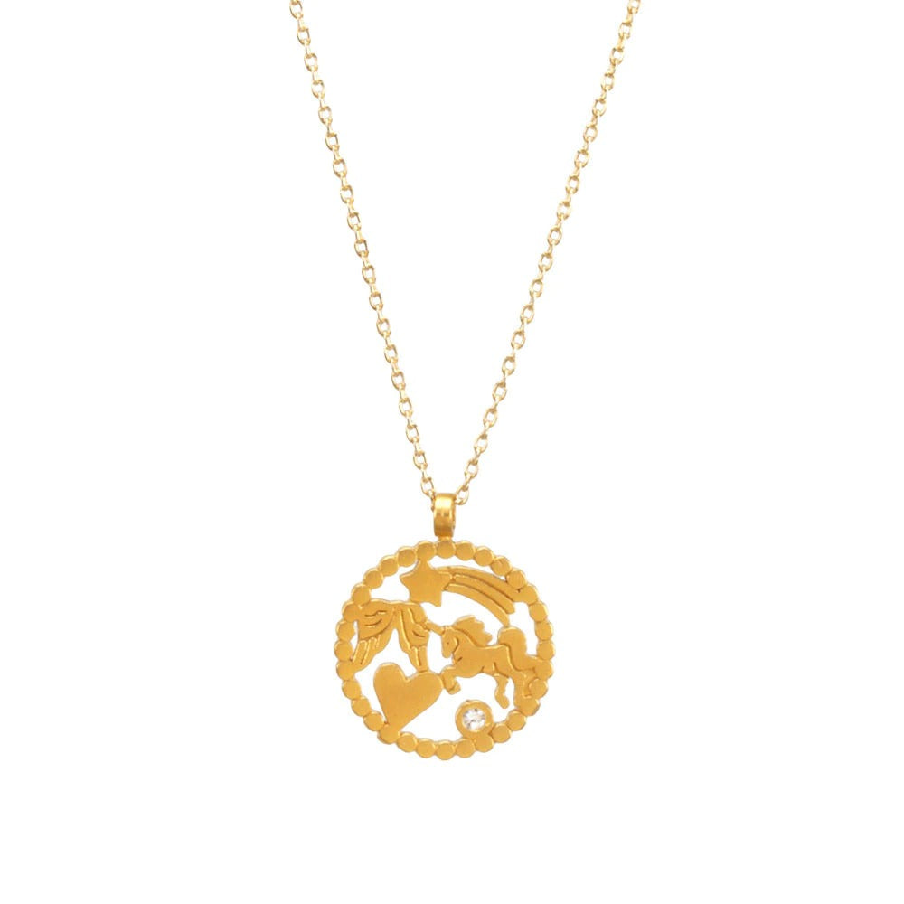 Dogeared 'You Are Everything Nice' Necklace In Gold