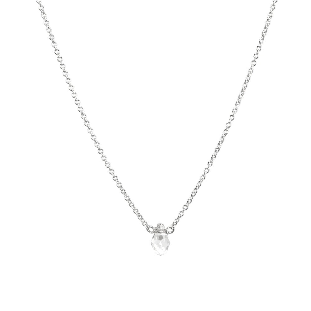 Dogeared 'Radiate Love' Necklace In Silver