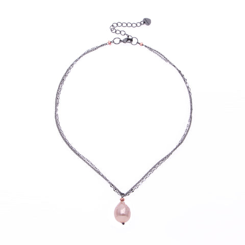 Nakamol Clarisse Drop Necklace