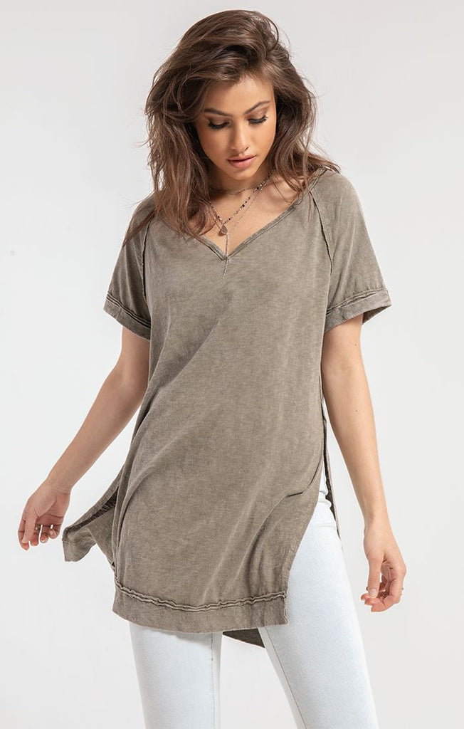 Macon Tunic in Olive