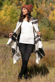 Grace & Lace Winter Weight Pocket Poncho/Scarf