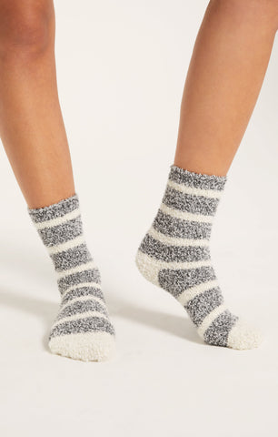 Plush Socks, Stripe