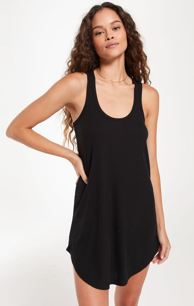 The LBD Rib Dress, Black