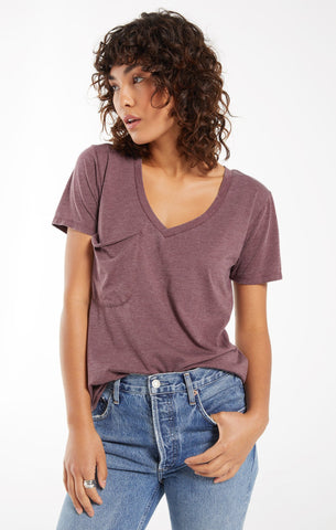 The Pocket Tee, Merlot
