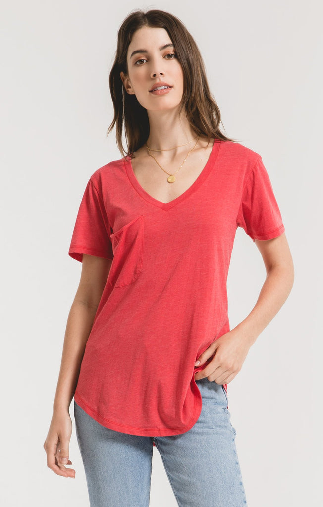 The Pocket Tee In Tomato