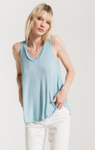 Vagabond Tank In Sandwashed Blue
