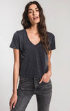 The Classic Skimmer Crop Tee, Black