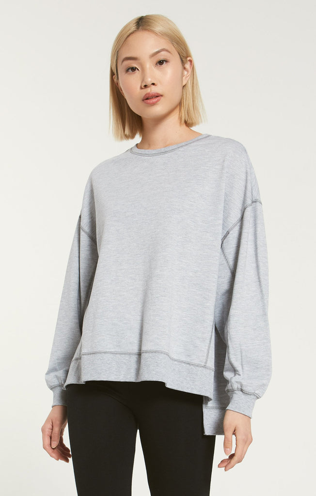 Modern Weekender, Heather Grey