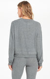 Noa Marled Top, Ash Green