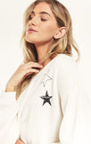 Night Owl Starry Sweatshirt, Vanilla Ice