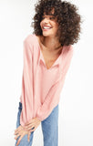 Larissa Thermal Top, Rosy Pink