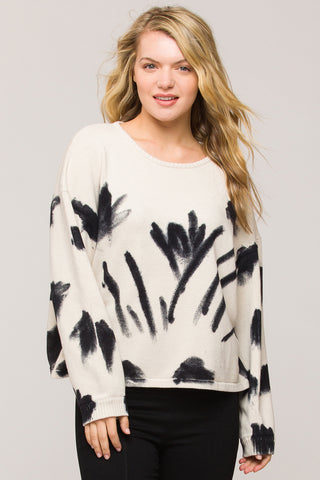 Zuma Abstract Sweater