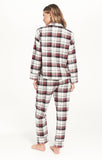 Dream State Plaid PJ Set, Vanilla Ice