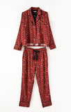 Dream State Heart PJ Set, Rosy Red