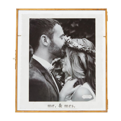 Mr. & Mrs, Photo Frame, Large