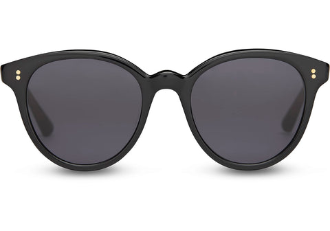 Aaryn Sunglasses shiny black Toms