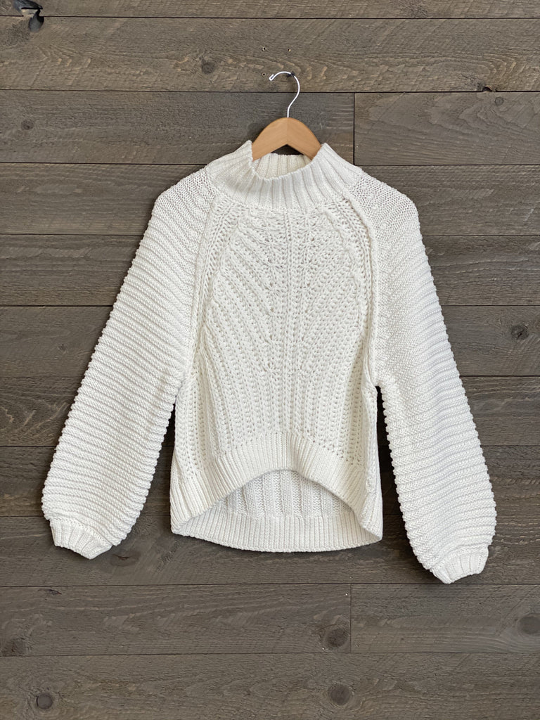 Sweetheart Sweater, Ivory