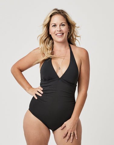 Alexandra One-Piece Swimsuit, Black