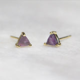 Amethyst Mini Energy Earrings Jax Kelly
