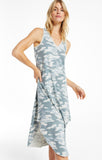 Camo Reverie Dress, Dusty Sage