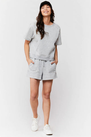Phoenix Grey Pull-On Short
