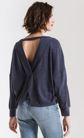 Black Swan Martina Criss-Cross Back Sweater
