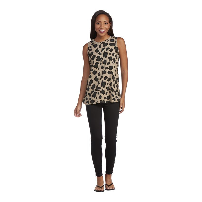 Effie Tank, Tan Leopard