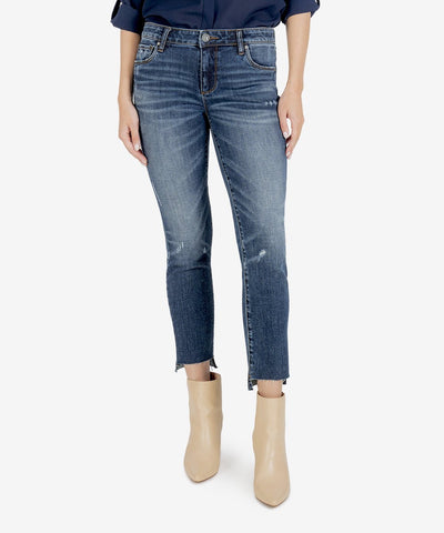 Reese Ankle Straight Leg Jean, Glory Wash