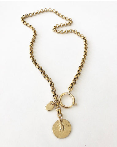 Taylor & Tessier Charmed Bee Necklace