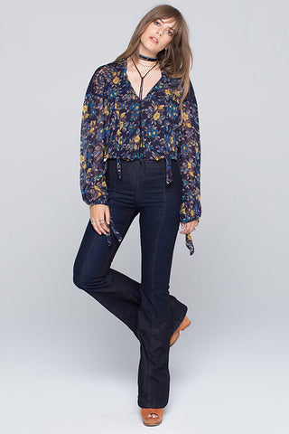 Fiona Flare Pull On Jeans