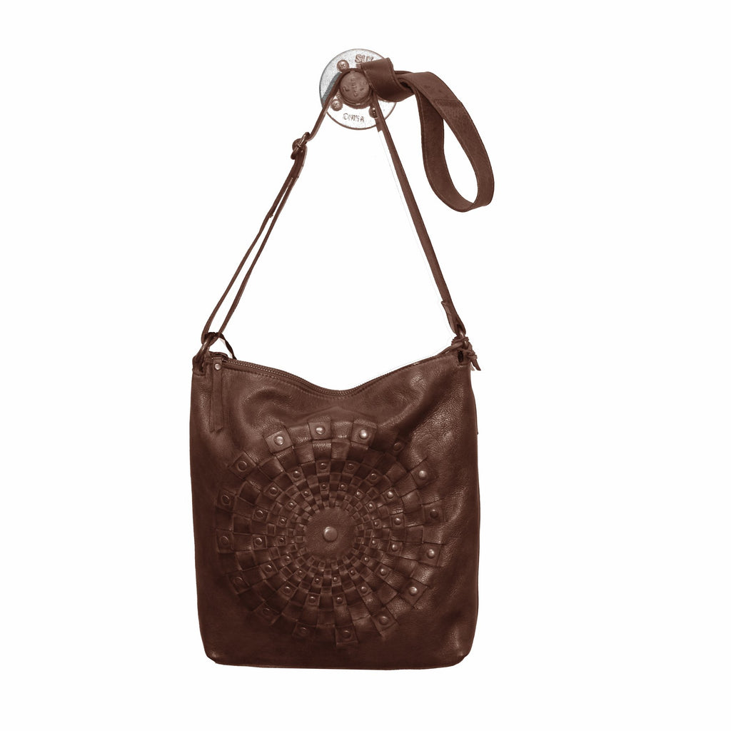 Latico Leather Estell Crossbody In Brown