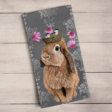 Green Box Bubblegum Bunny Tea Towel