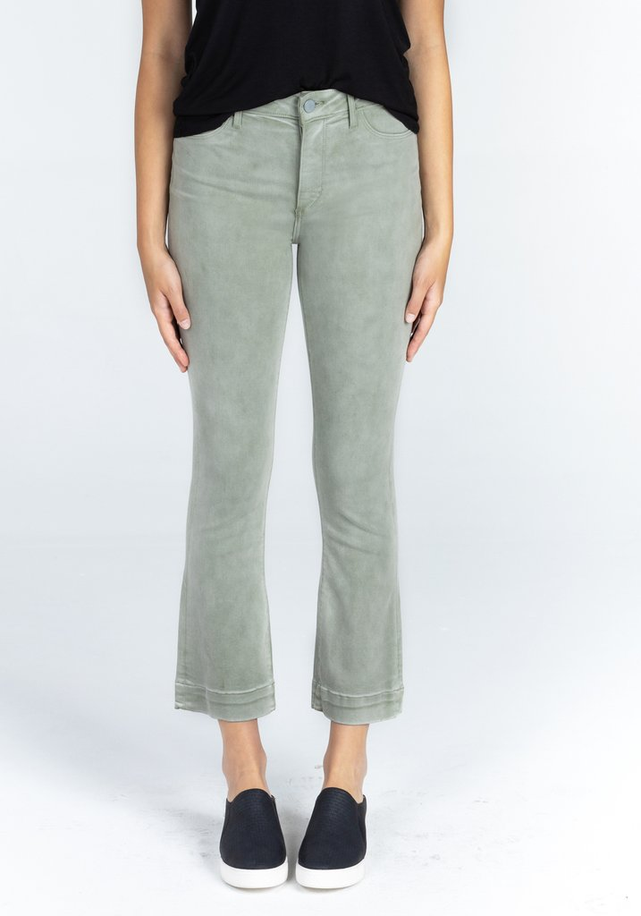 London Crop Flare Jeans, Lihue