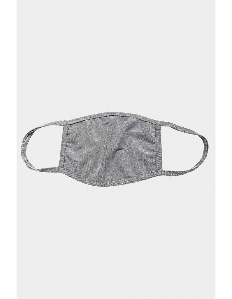 Adult Reusable Face Mask, Heather Grey