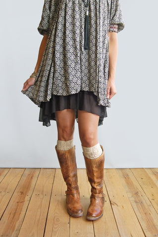 Grace & Lace Chiffon High-Low Extender