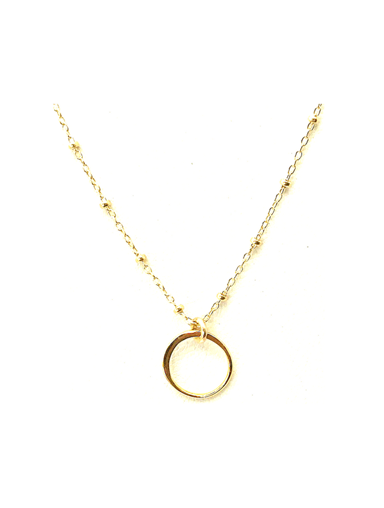 Carly Circle Necklace