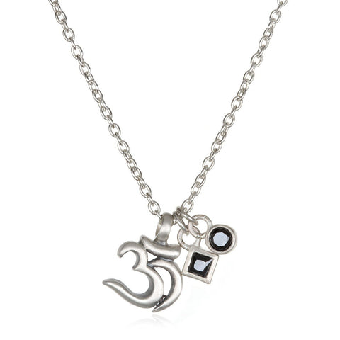 'Restorative Energy' Om Necklace