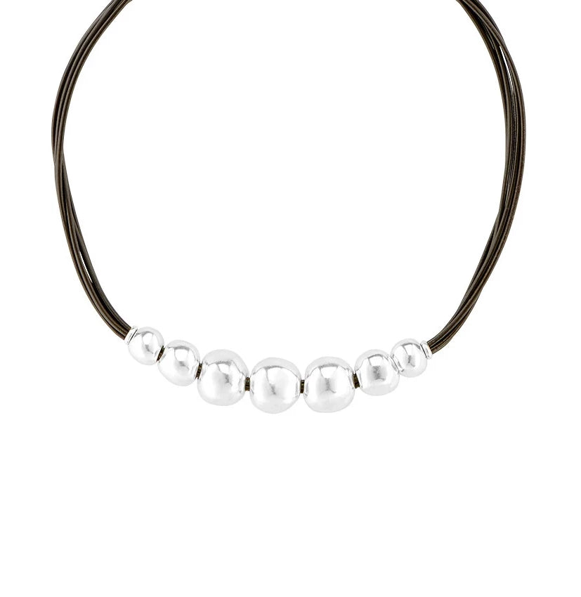 'Aligned' Choker Necklace