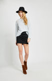 Gentle Fawn COLLIE SWEATER In Light Grey