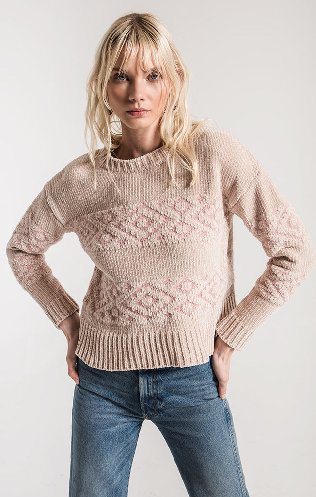 Mesa Sweater In Rugby Tan
