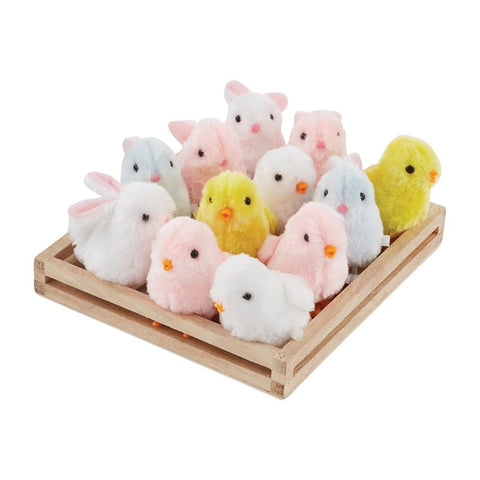 Wind-Up Chicks and Bunnies