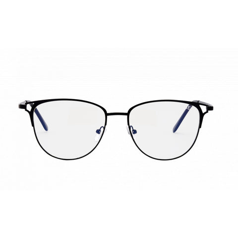 Jade Blue Light Glasses, Black