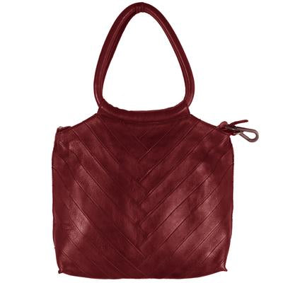 Latico Dalton Leather Handbag In Oxblood